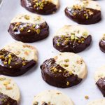 Chocolate Pistachio Cookies