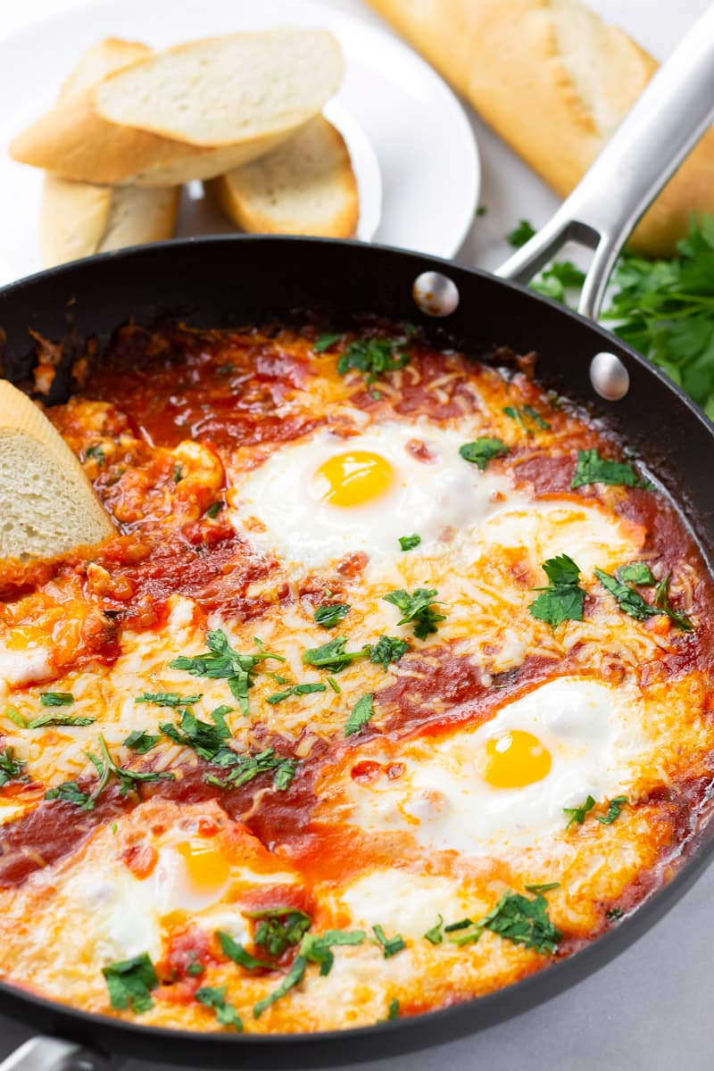 Eggs in Purgatory Baked