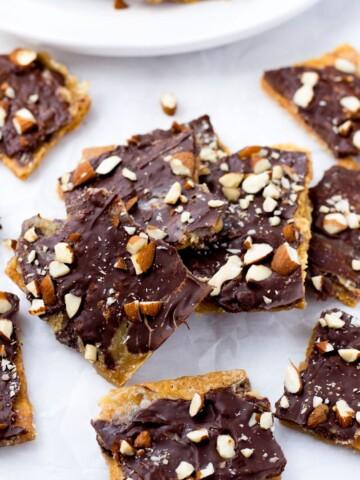 Graham Cracker Candy Easy