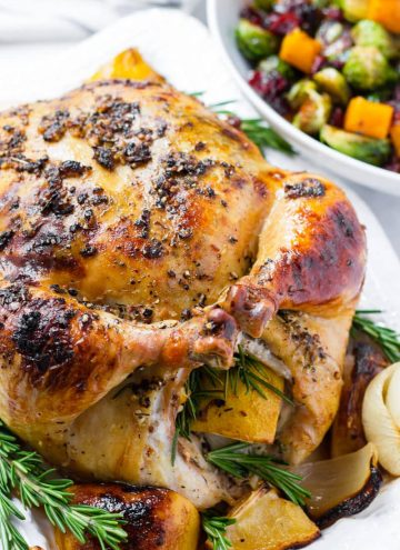Lemon Rosemary Whole Chicken