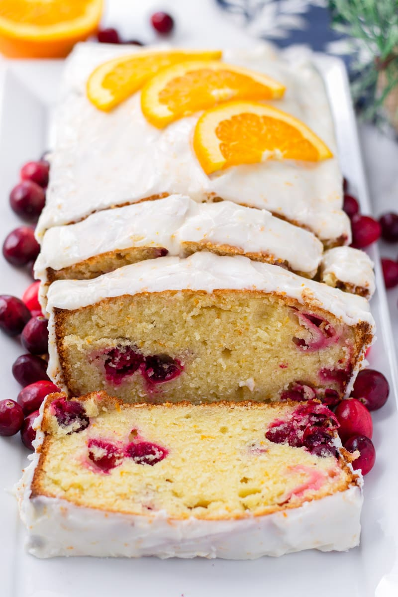 Cranberry Orange Pound Cake Butter