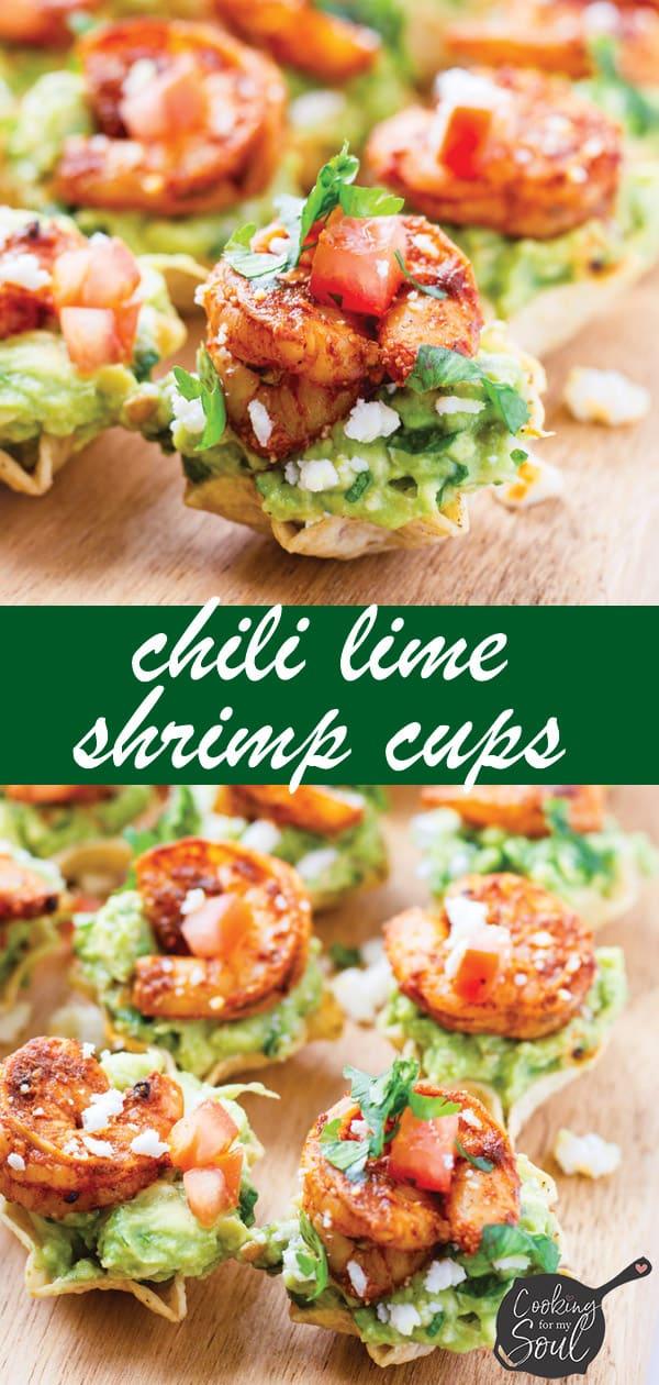 Lime Shrimp Cups with Avocado