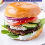 Healthy Burgers Made with Ground Turkey