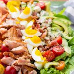 Easy Salmon Cobb Salad