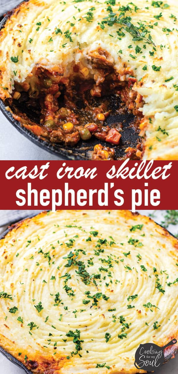 Cast Iron Skillet Shepherds Pie Easy