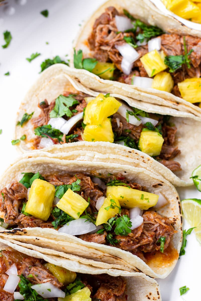 Slow Cooker Tacos Al Pastor Cooking For My Soul