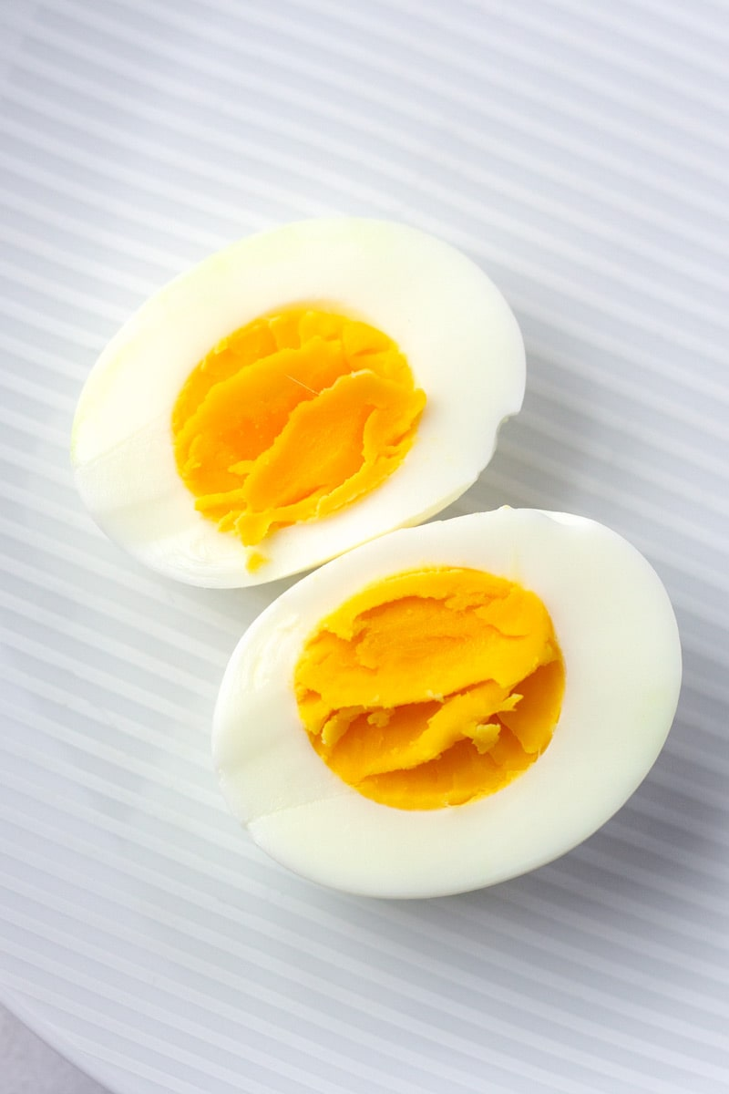 Texture for Hard-boiled Eggs for Deviled Eggs