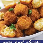 pin image design for mac and cheese balls