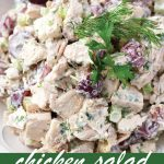 pin image for chicken salad with grapes recipe