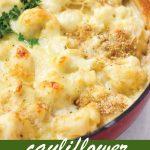 pin image design for cauliflower au gratin