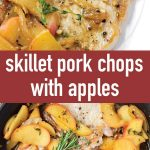 pin image design for skillet pork chops with apples recipe