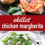 pin image design for chicken margherita recipe