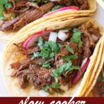 pin image design for barbacoa beef tacos