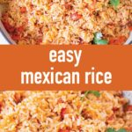 pin image design for mexican rice restaurant-style