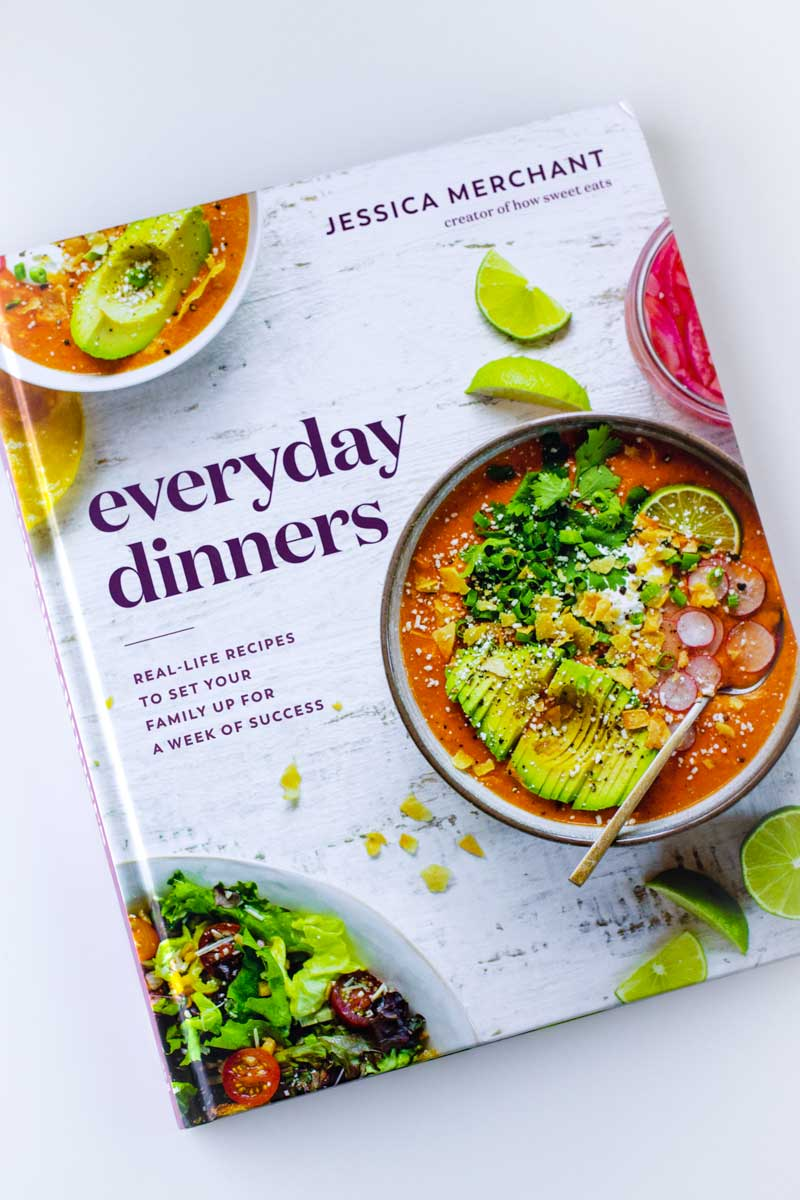 everyday dinners cookbook by jessica merchant