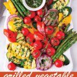 pin image design for grilled vegetable platter recipe