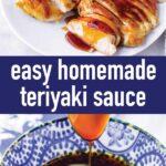 pin image design for teriyaki sauce recipe