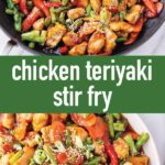 pin image design for chicken teriyaki stir fry