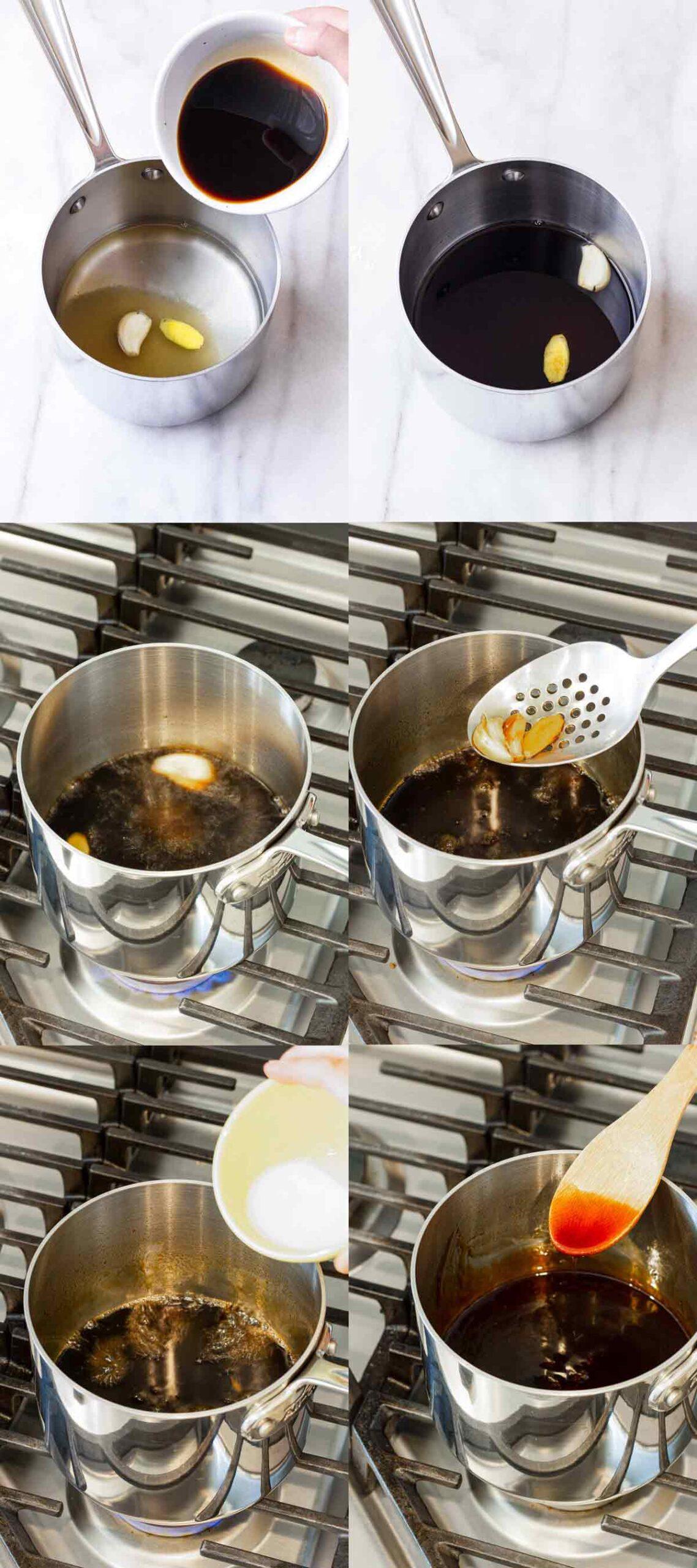 steps to make teriyaki sauce at home