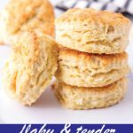 pin image design for buttermilk biscuits