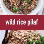 pin image design for wild rice pilaf